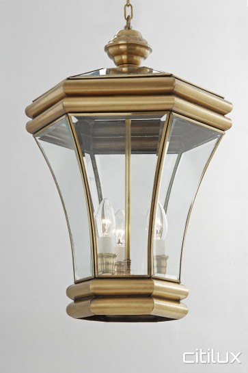 Allambie Heights Classic Outdoor Brass Pendant Light Elegant Range Citilux