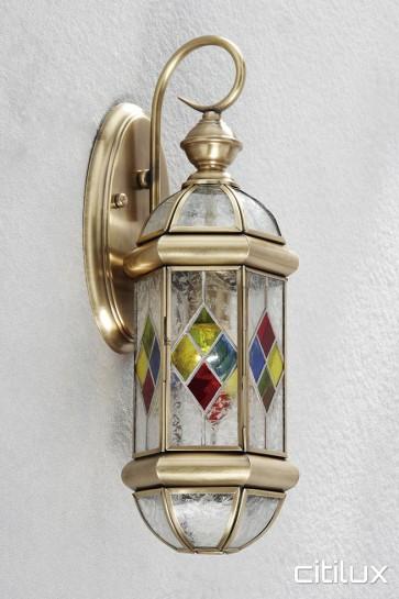Allawah Classic Outdoor Brass Wall Light Elegant Range Citilux
