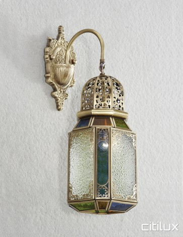 Artarmon Traditional Brass Wall Light Elegant Range Citilux