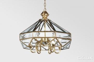 Ashfield Traditional Brass Made Dining Room Pendant Light Elegant Range Citilux