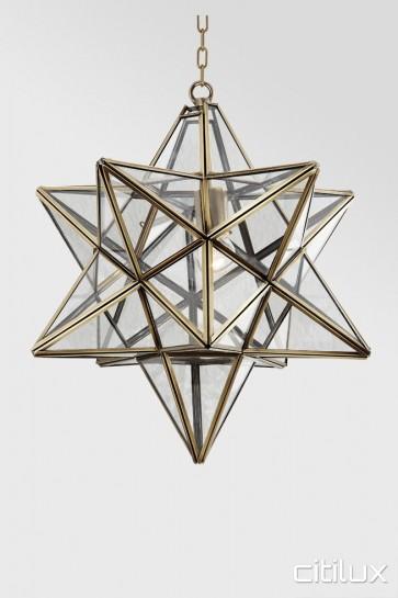 Balgowlah Simplism Brass Pendant Elegant Range Citilux