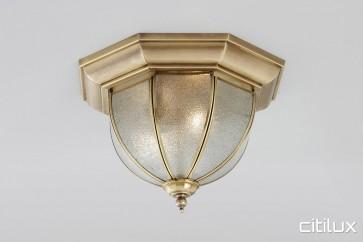 Balmain Classic Brass Made Flush Mount Ceiling Light Elegant Range Citilux