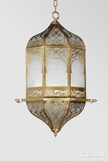 Bardwell Valley Classic Brass Pendant Elegant Range Citilux