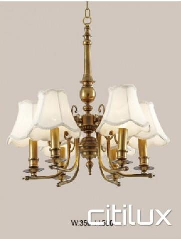 Enmore Classic European Style Brass Pendant Light Elegant Range Citilux