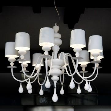 Eva 10 light Chandelier - Pendant Light - Citilux