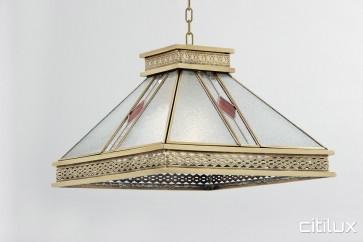 Freshwater Classic Brass Made Dining Room Pendant Light Elegant Range Citilux