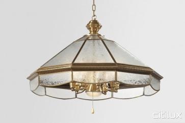 Georges Hall Classic Brass Made Dining Room Pendant Light Elegant Range Citilux