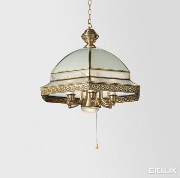 Gladesville Traditional Brass Made Dining Room Pendant Light Elegant Range Citilux