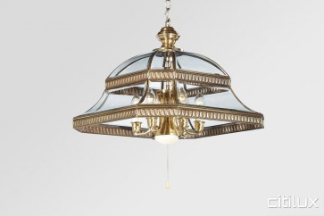 Glen Alpine Traditional Brass Made Dining Room Pendant Light Elegant Range Citilux