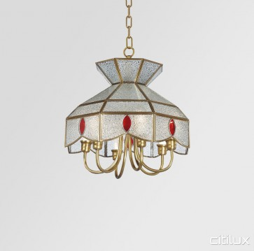 Glenfield Traditional Brass Made Dining Room Pendant Light Elegant Range Citilux