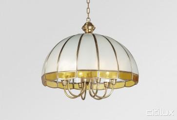 Glenorie Classic Brass Made Dining Room Pendant Light Elegant Range Citilux