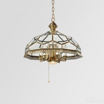 Glenwood Traditional Brass Made Dining Room Pendant Light Elegant Range Citilux