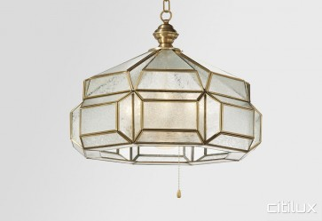 Gordon Classic Brass Made Dining Room Pendant Light Elegant Range Citilux