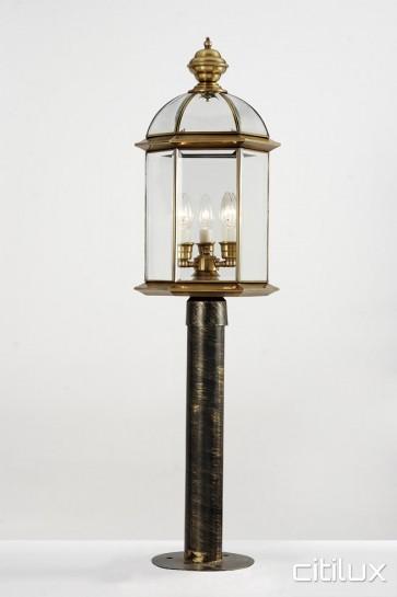 Green Valley Classic Outdoor Brass Made Post Light Elegant Range Citilux