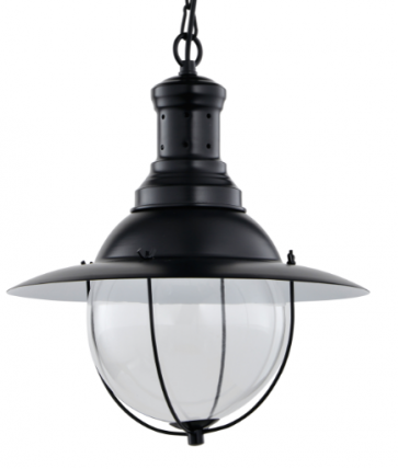 Industrial Vintage Marine Round Pendant Lamp - Pendant Light - Citilux