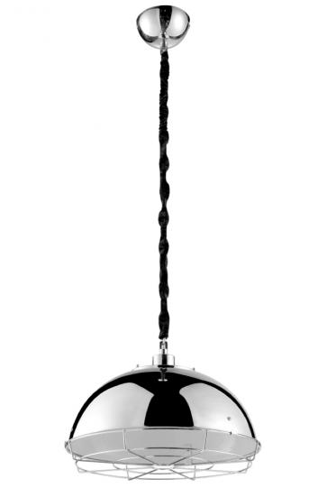 Industrial Wire Cage Round Pendant Lamp  - Pendant Light - Citilux