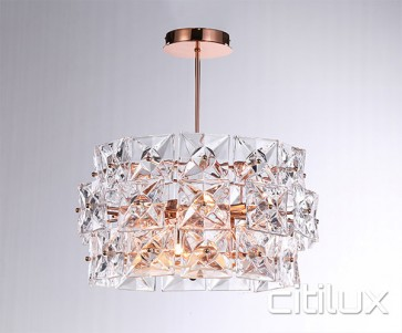 Inessa 4 Lights Pendant Rose Gold Citilux