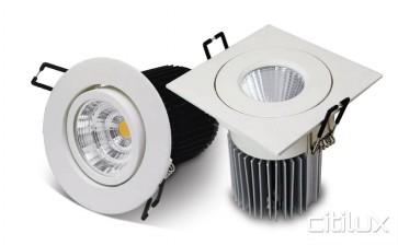 Unitec Square Frame 90mm  LED Downlights