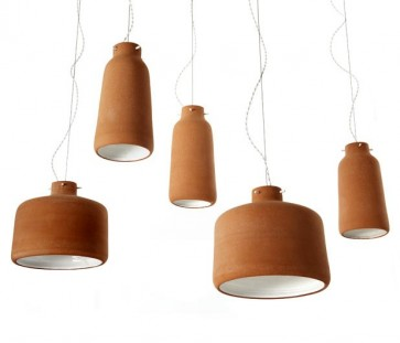 Replica Benjamin Hubert Chimney Clay Pendant Lamp -36cm - Pendant Light - Citilux
