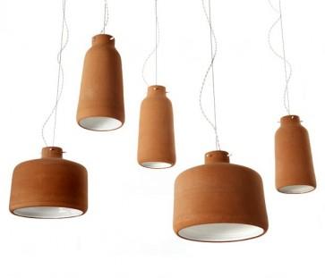 Replica Benjamin Hubert Chimney Clay Pendant Lamp -40cm - Pendant Light - Citilux
