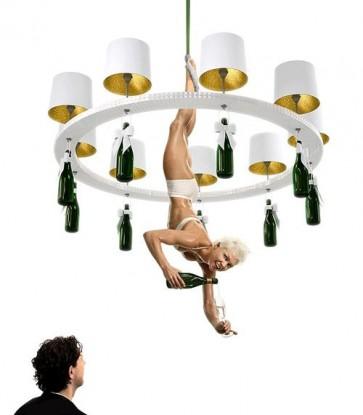 Replica Happy Hour chandelier - 9 Lights - Pendant Light - Citilux