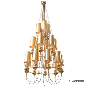 Replica Jaime Hayon Josephine Queen 9+6+3 Chandelier - Pendant Light - Citilux