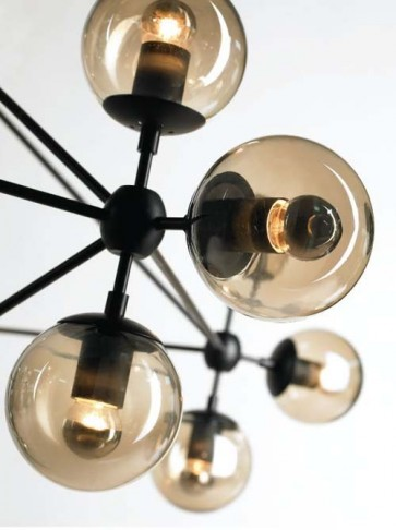Replica Jason Miller Modo Chandelier - 10 Bulb - Pendant Light - Citilux