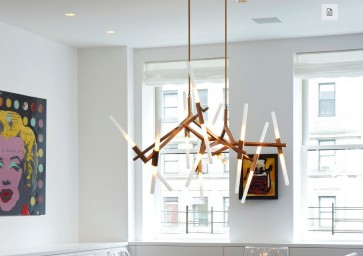 Replica Lustre 10 bulb Agnes chandeliers - Pendant Light - Citilux