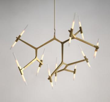 Replica Lustre 20 bulb Agnes chandeliers - Pendant Light - Citilux