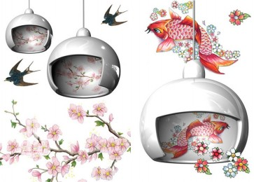 Replica Moooi JUUYO Geisha Pendant light  - Pendant Light - Citilux