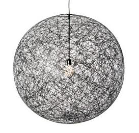 Replica Moooi Random Pendant Lamp -Black 50cm - Pendant Light - Citilux