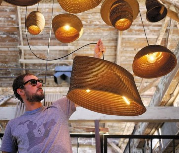 Replica Recycled Cardboard Pendant lights -Sodo - Pendant Light - Citilux