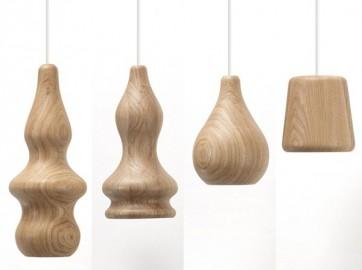 Replica Wood Contemporary Pendant lamp - B - Pendant Light - Citilux