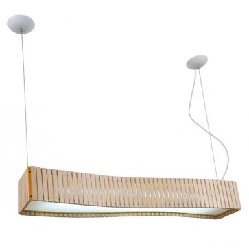Replica Wood Long Pendant Lamp - Pendant Light - Citilux