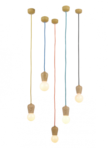 Replica Wood Nordic Tales Bright Sprout Pendant Lights - Pendant Light - Citilux