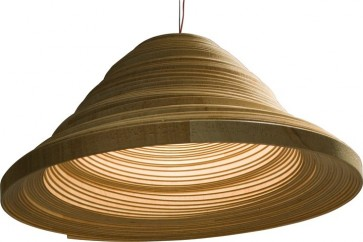 Replica Wood Twisted Lights -A - Pendant Light - Citilux