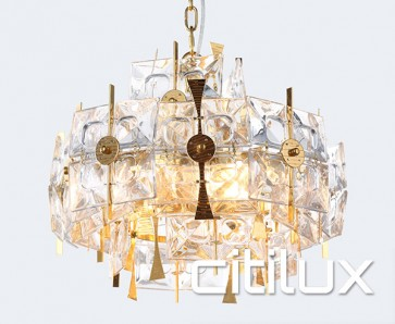 Varvara 6 Lights Pendant Gold Citilux