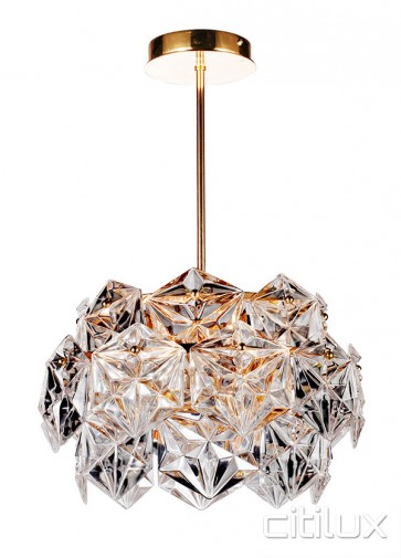 Vera 6 Lights Pendant Rose Gold Citilux