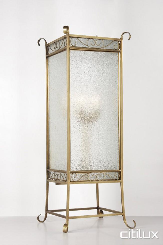 Bondi Junction Traditional Brass Table Lamp Elegant Range