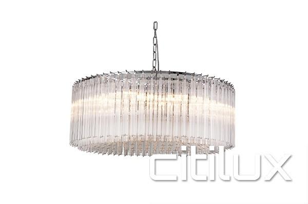 elektra 12 lights chandelier citilux