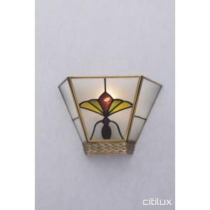 Acacia Gardens Classic Brass Wall Light Elegant Range Citilux