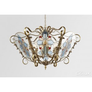 Balgowlah Heights Classic Brass Made Semi Flush Mount Ceiling Light Elegant Range Citilux