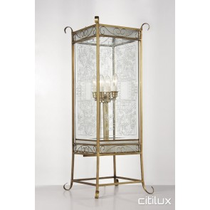 Bonnet Bay Classic Brass Table Lamp Elegant Range Citilux