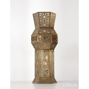 Brighton-Le-Sands Traditional Brass Table Lamp Elegant Range Citilux