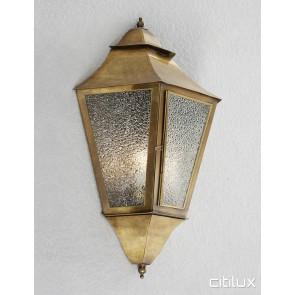 Carlton Classic Brass Wall Light Elegant Range Citilux