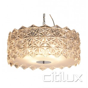 Cilla 6 Lights Pendant Chrome Citilux