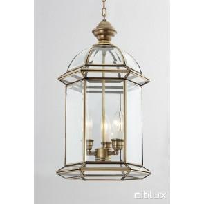 Coledale Classic Outdoor Brass Pendant Light Elegant Range Citilux