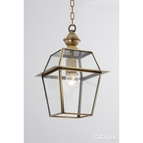 Collaroy Traditional Outdoor Brass Pendant Light Elegant Range Citilux