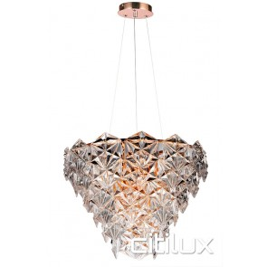 Fairy 6 Lights Pendant Rose Gold Citilux
