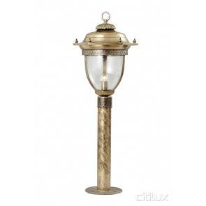 Greendale Classic Outdoor Brass Made Post Light Elegant Range Citilux